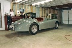 1952 XK 120 Jaguar